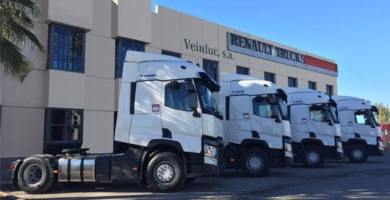 Las cuatro últimas unidades, de un pedido de 12, acaban de ser entregadas a la empresa por Veinluc.