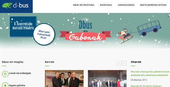 Dbus presenta su nueva página web con novedades, entre las que destaca una aplicación oficial para móviles