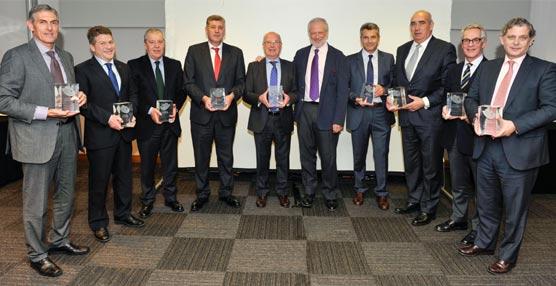 Una imagen de los premiados.