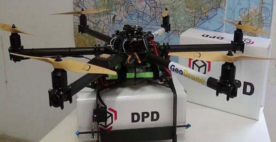 GeoPost, socio estratégico de SEUR, inicia las pruebas para el reparto de paquetes con drones