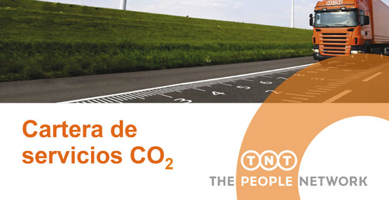 TNT se compromete con el medio ambiente lanzando su cartera de servicios CO2.