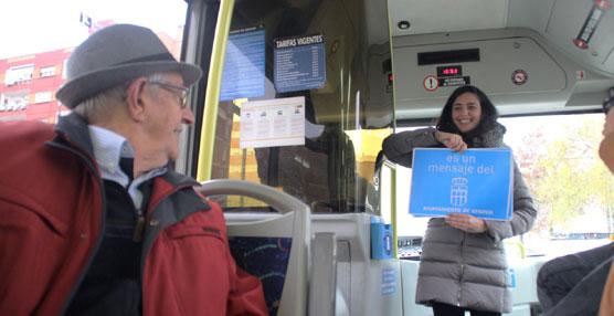 'Segovia se mueve #mejorenbus', lema elegido para fomentar el uso del transporte urbano