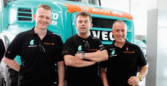 Hans Stacey, piloto del equipo Iveco, gana la primera etapa del Dakar 2015