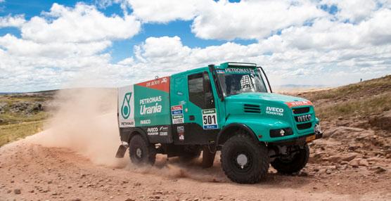 Iveco, en el podio en la Etapa 3 del Dakar 2015, con Gerard De Rooy tercero