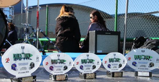 Se celebra la I Destina Bowl en el Polideportivo Valleaguado, en Coslada