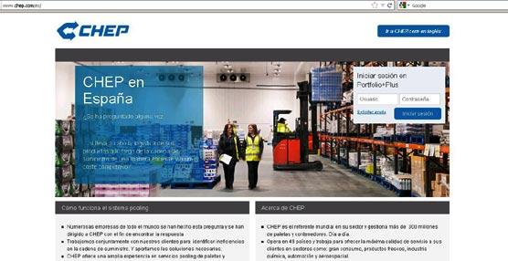 Agroalimen duplica el volumen de paletas Chep, destinadas al movimiento de sus productos en Europa