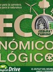 Ecological Drive Ofrece grandes oportunidades en neumáticos, repuestos y operaciones de mecánica.