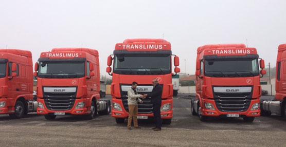 Translimus adquiere cinco unidades del DAF XF Space Cab equipados con las máximas prestaciones