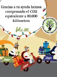 La compañía de transporte urgente Redyser compensa 80.000 km de CO2 en su campaña de Navidad
