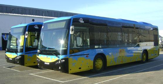 El transporte urbano de Sanlúcar de Barrameda incorpora a su flota dos autobuses CS 40 magnus de Grupo Castrosua