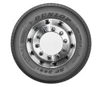"""Dunlop presenta sus nuevos neumáticos de dirección SP 344 de 17,5"""" para camiones de transporte regional"""