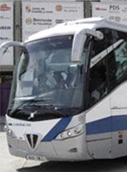 Las líneas de cercanías de La Regional prestan servicio en el sistema de transporte urbano de Palencia.