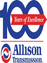 Logo de Allison para celebrar los 100 años de la marca.