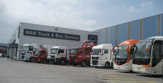 MAN Truck & Bus Service Vehículos Industriales de Oviedo.