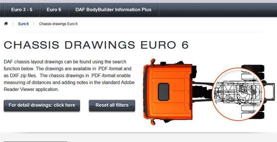 La página web de DAF para el sector carrocero, disponible ahora en trece idiomas, se renueva con nuevas funcionalidades