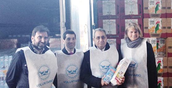 Azkar transportará 3,5 millones de raciones de desayunos para donar a los 54 Bancos de Alimentos de toda España