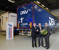 Schmitz Cargobull recibe un mega pedido de 3.000 semirremolques de lona para el operador logístico DSV
