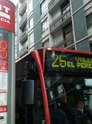 EMT Valencia ajustará el horario de la L25 para facilitar la entrada de alumnos del colegio Lluís de Santángel de El Saler