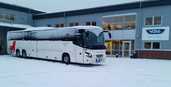 VDL Bus & Coach finaliza la entrega de 78 autobuses y autocares al consorcio sueco de transporte Sambus