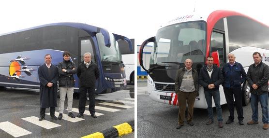 Sunsundegui entrega un SC7 a Autocares Marín Colmenero y otro a Autocares Arribas Sur, ambos con chasis Volvo