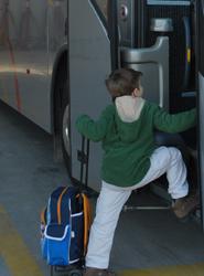 El Proyecto Kango Bus del Ayuntamiento de Barcelona pretende reducir el tráfico en horario de entrada a los colegios