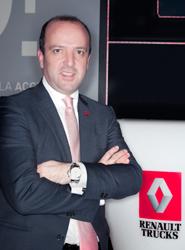 Oscar Martirena da el salto al transporte de mercancías como nuevo director comercial de Renault Trucks
