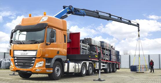 DAF exhibe sus nuevas tractoras con eje arrastrado director