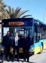 Transportes Urbanos de Sanlúcar presenta tres nuevos autobuses que contribuyen a la renovación de su flota
