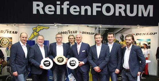 Las marcas de camión de Goodyear Dunlop copan los premios VRÖ de Austria