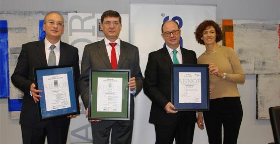 El operador logístico Logiters renueva sus certificaciones ISO de gestión ambiental y de calidad de la mano de Aenor