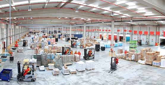 La inversión en logística alcanza los 620 millones de euros en 2014 según el monitor de Aguirre Newman