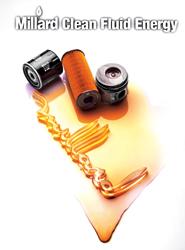 Millard Filters es una marca de filtros para vehículos y maquinaria, en seis categorías: filtros de aire, de aceite, de combustible, de cabina, separadores y refrigerantes.