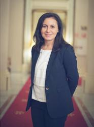 África Pardo, directora de Ventas de Iveco Bus para España y Portugal.
