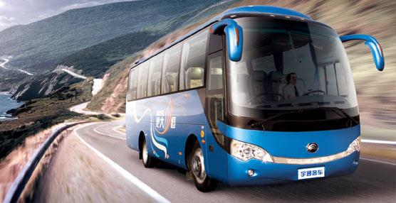 Yutong presenta el CC9 de 9,35 metros, primer vehículo que la compañía importa a España