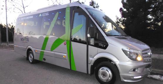 Car-bus.net entrega dos Spica a Novatel y uno al Grupo Avanza, todos sobre chasis cabina Sprinter Mercedes Benz
