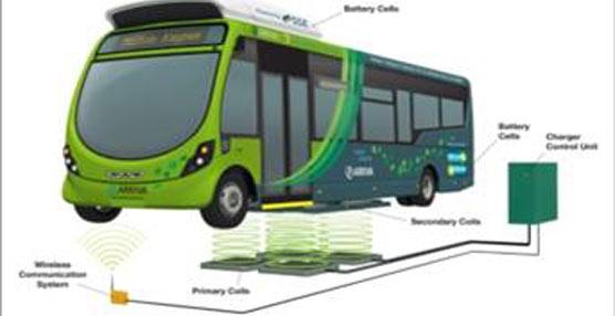Un carril eléctrico prioritario para autobuses, nuevo avance en el concepto del transporte urbano