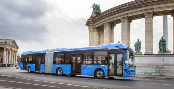 Volvo Buses suministra 28 autobusesVolvo híbridos articulados a T & J Buszpara la ciudad de Budapest