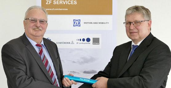 Helmut Ernst se convierte en el Presidente del Consejo de Administración de ZF Services