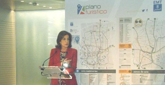 Nuevo plano de líneas de interés turístico de la EMT de Madrid y nuevas denominaciones de paradas