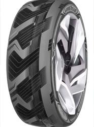 El nuevo prototipo de neumático de Goodyear.