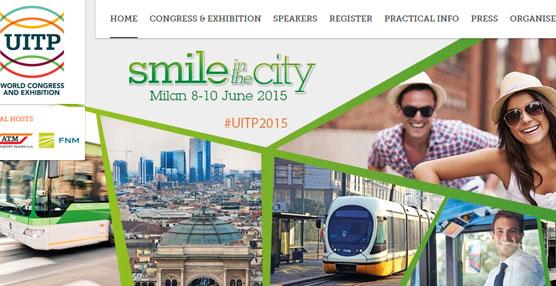 El Congreso Mundial y Exposición Comercial de la Unión Internacional de Transporte Público, UITP, tendrá lugar en Milán del 8 al 10 de junio.