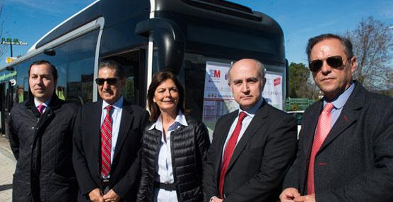 La Comunidad de Madrid introduce los primeros autobuses híbridos en el servicio urbano de Pozuelo