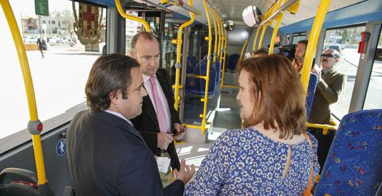 Almería incorpora cinco nuevos autobuses al Servicio de Transporte Urbano Colectivo de Viajeros