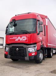 Uno de los nuevos camiones de Norbert Dentressangle.