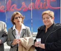 El 'Bus de la Salud' estaciona en Lleida para sensibilizar a la población sobre la prevención de las enfermedades renales
