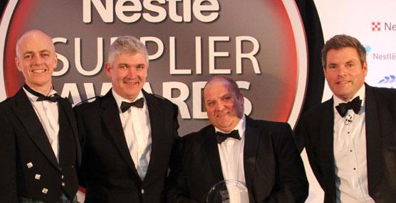 """Norbert Dentressangle recoge el """"Premio Proveedor Nestlé"""" como mejor proveedor de la compañía de alimentos"""