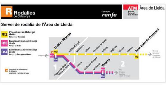 Comienza la integración tarifaria en Lleida con descuentos de hasta el 87% respecto al precio del billete sencillo