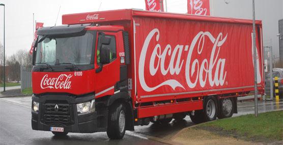 Coca-Cola Bélgica recibe su vehículo Renault Trucks número 100 destinado a la distribución regional pesada