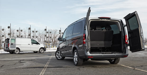 Mercedes Vans desvela un nuevo modelo para el mercado de furgonetas norteamericano: la Metris