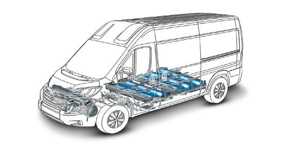 Escaner de la instalación de metano del nuevo Fiat Ducato